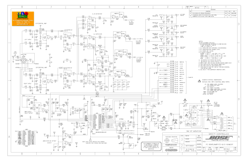 small resolution of  bose 901 series iv wiring diagram 33 wiring diagram