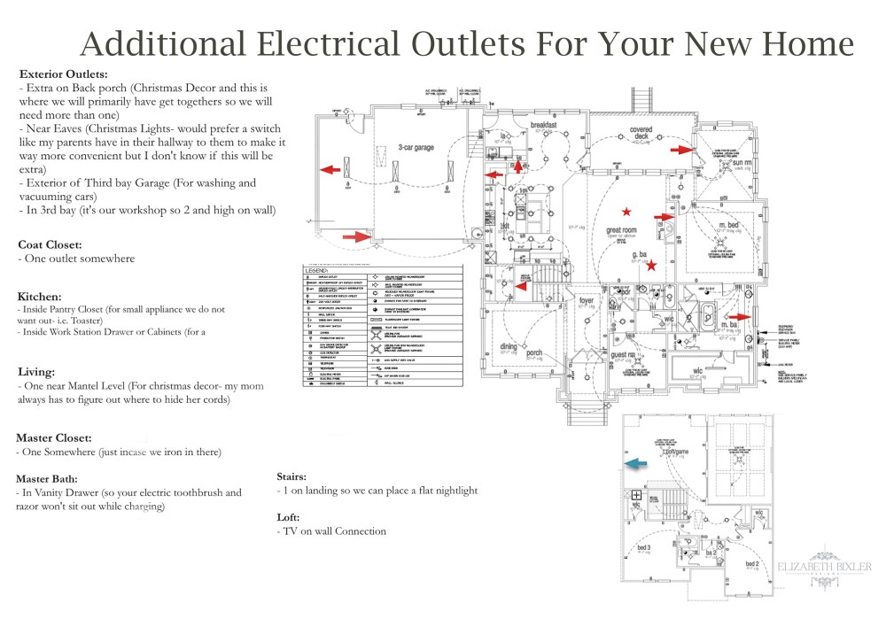 medium resolution of additional electrical outlets new home layout floor plan