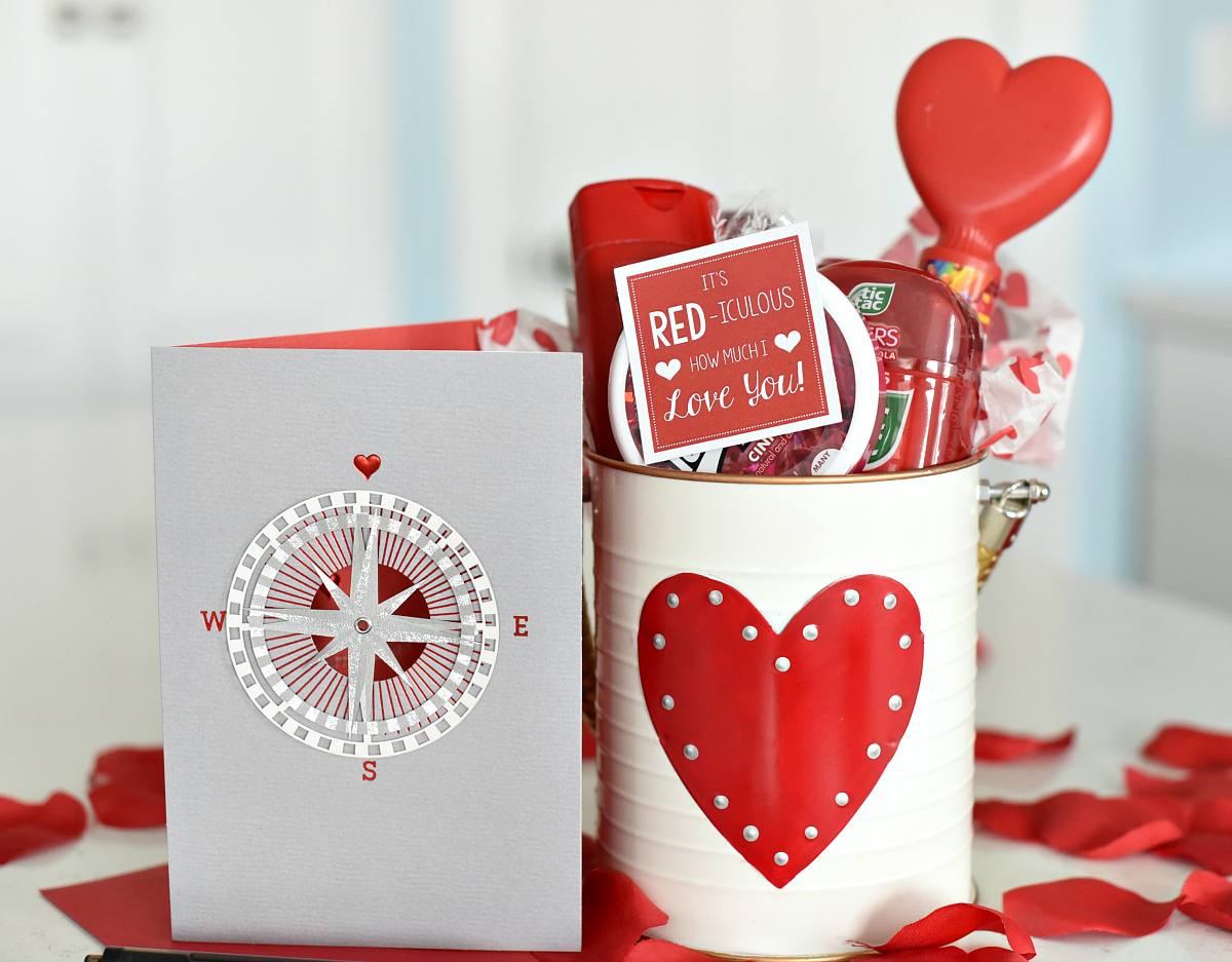 Cute Valentine S Day Gift Idea Red Iculous Basket
