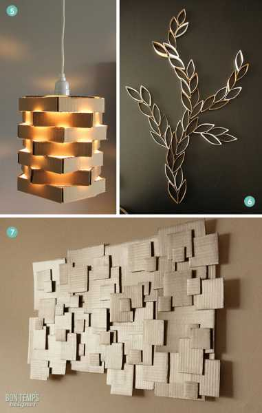 10 Ways To Use Cardboard In Your Decor Home And Garden
