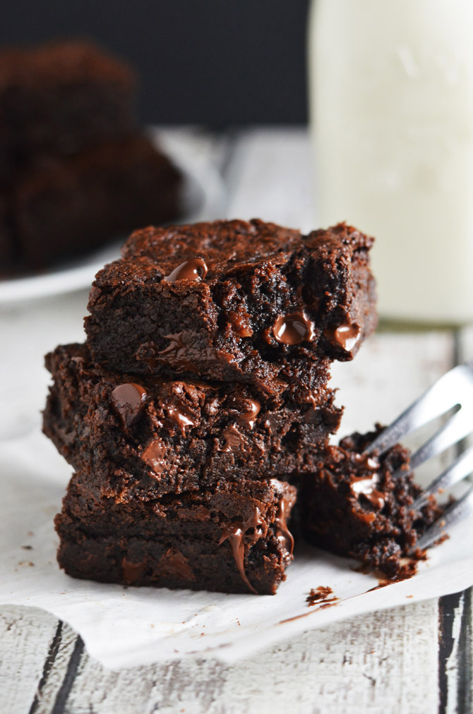The Best One Bowl Brownies  Host The Toast