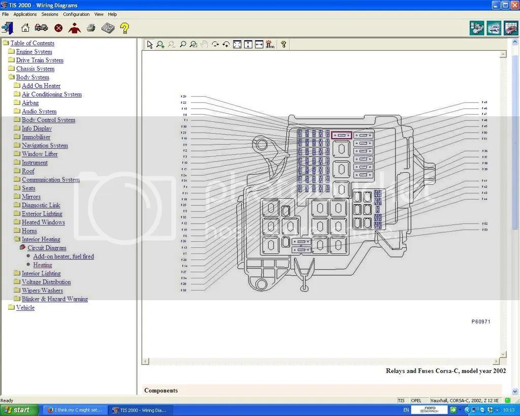 opel corsa b fuse box diagram 29 wiring diagram images [ 1024 x 819 Pixel ]