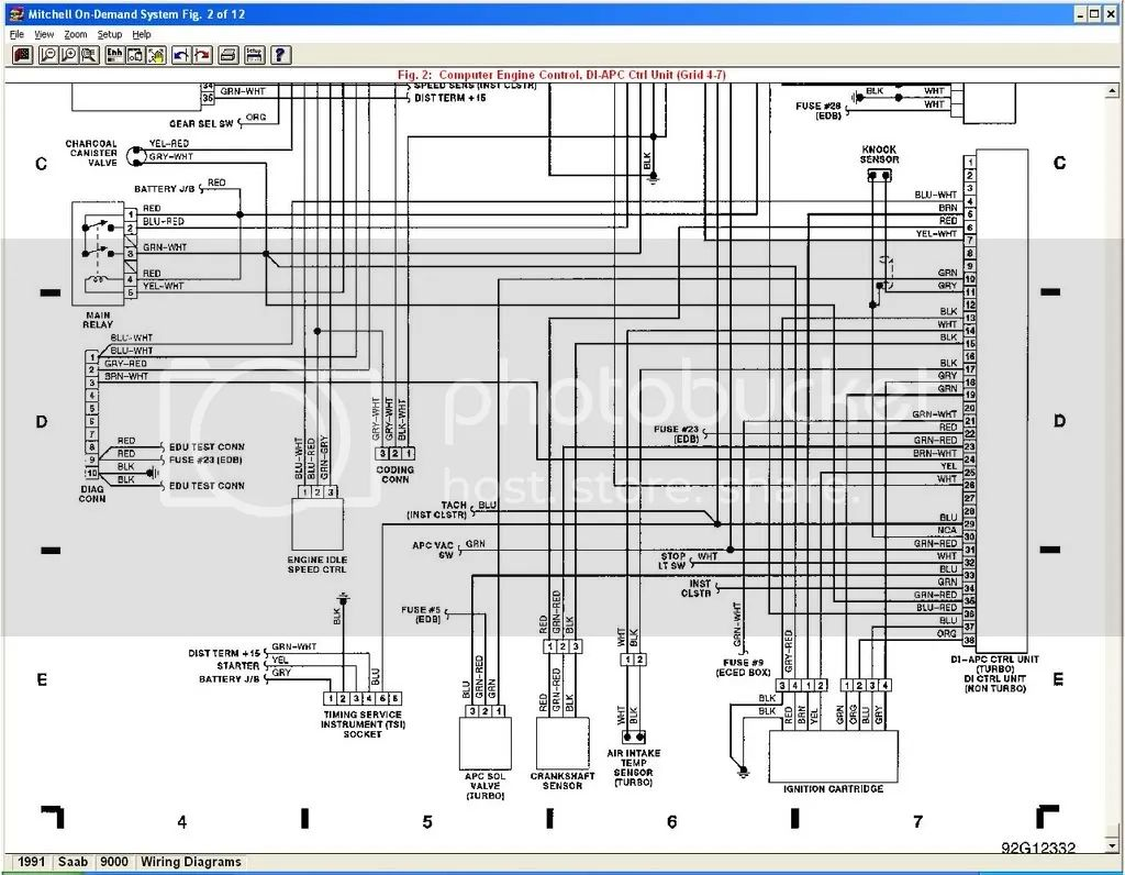 hight resolution of 1996 saab 900 wiring diagram