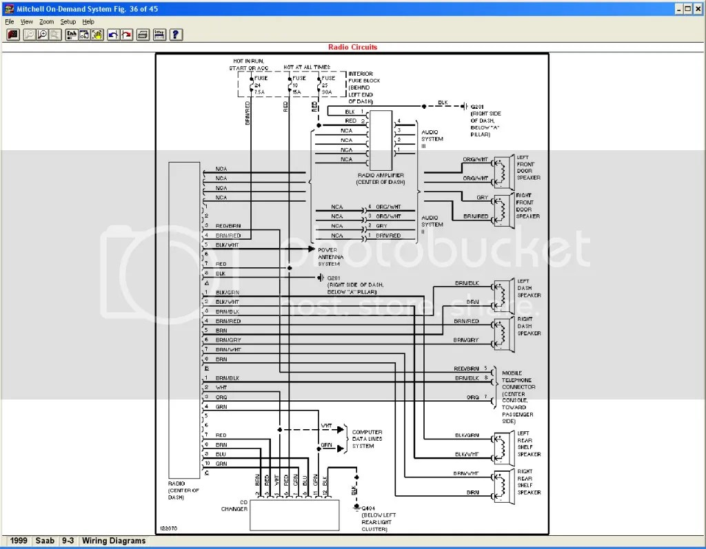 small resolution of 2004 saab 9 3 speaker wire diagram saab 93 stereo wiring harness