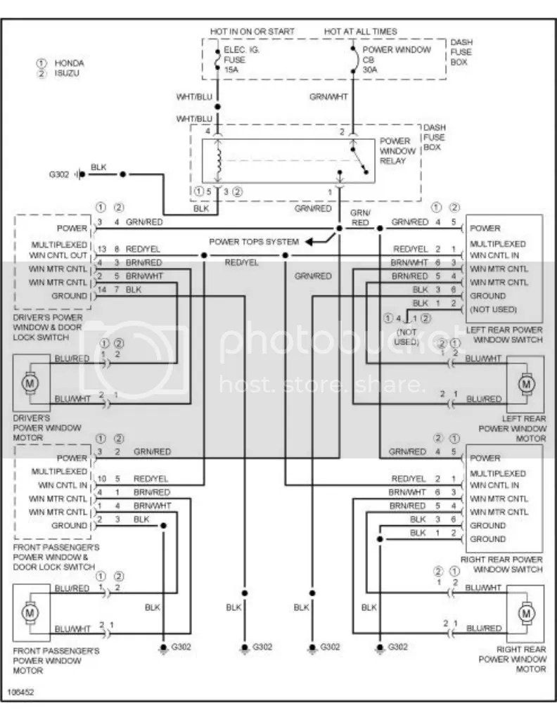 medium resolution of related with 1999 isuzu rodeo wiring diagram