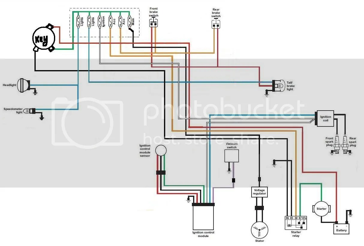 small resolution of 79 xs650 bobber wiring diagram