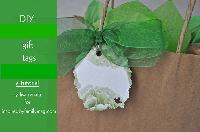 Recycled Craft From Tissue Box To Gift Tag Inspired By