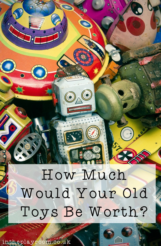 How Much Could Your Old Toys Be Worth In The Playroom