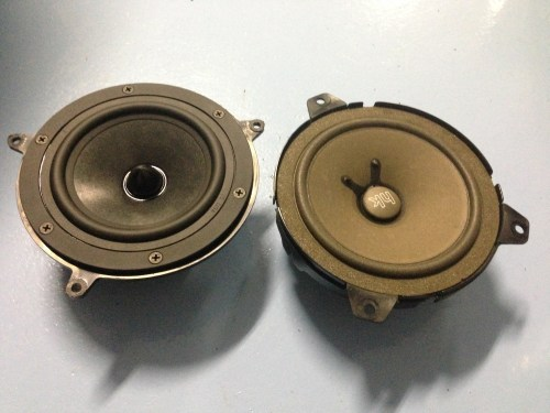 small resolution of bmw e46 sedan speaker replacement rear deck 2