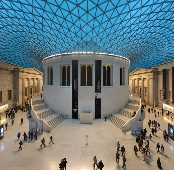 At the Great Court British Museum London