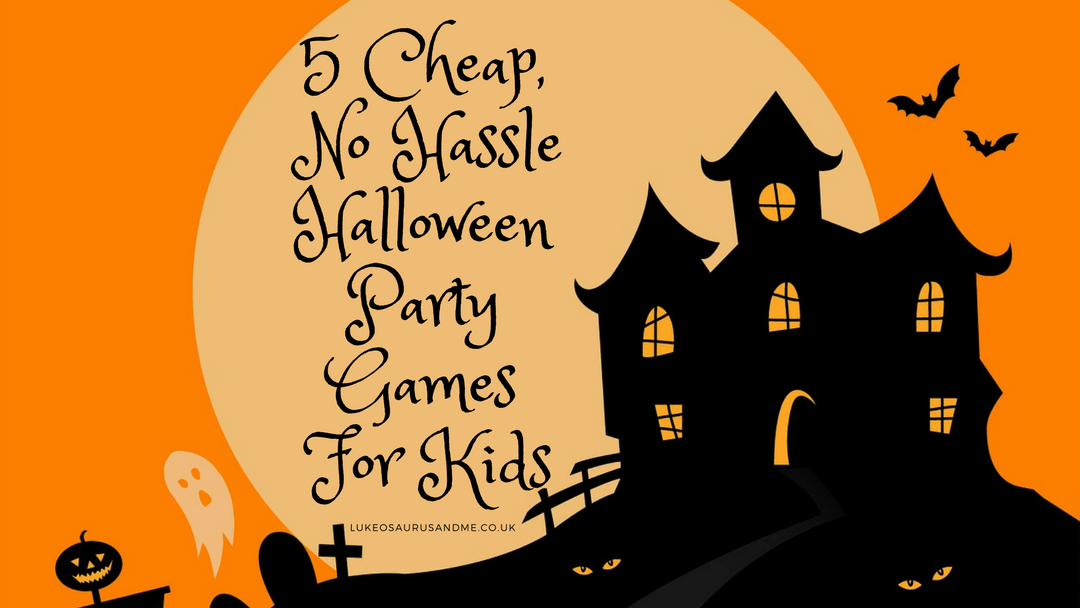5 Cheap No Hassle Halloween Party Games For Kids
