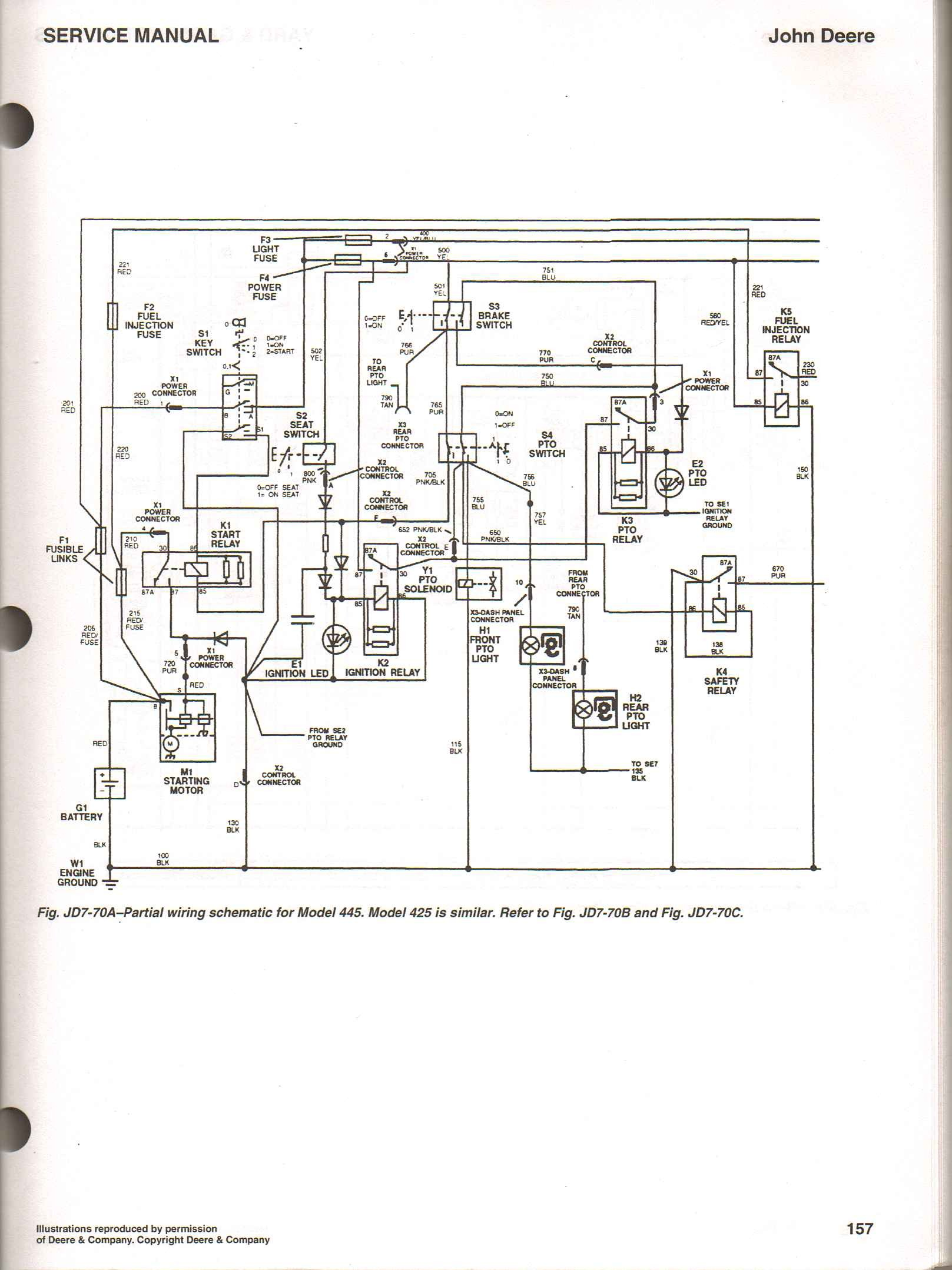 hight resolution of jd 425 wiring diagram wiring diagram for you john deere 425 lawn tractor mower wiring schematics