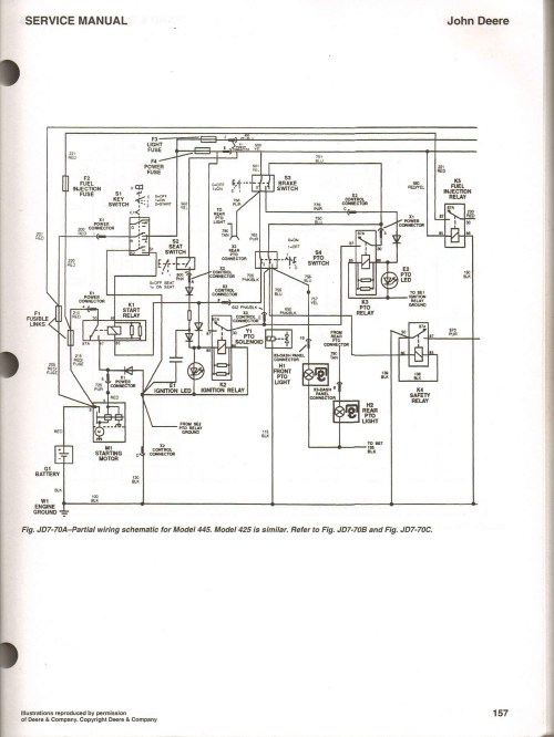 small resolution of jd 425 wiring diagram wiring diagram for you john deere 425 lawn tractor mower wiring schematics