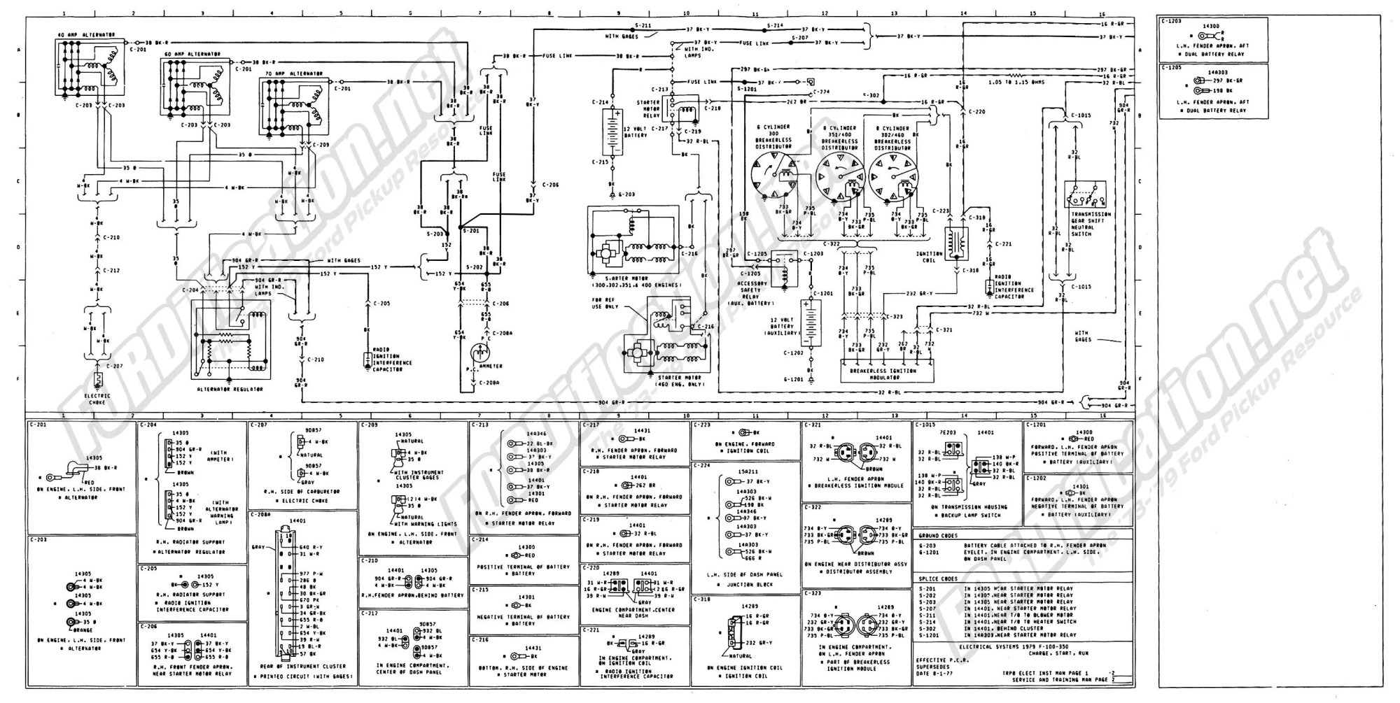 hight resolution of f150 alternator wiring diagram