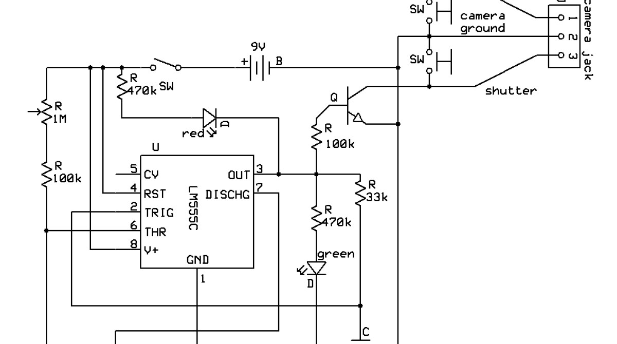 simple circuit diagram for a hair dryer