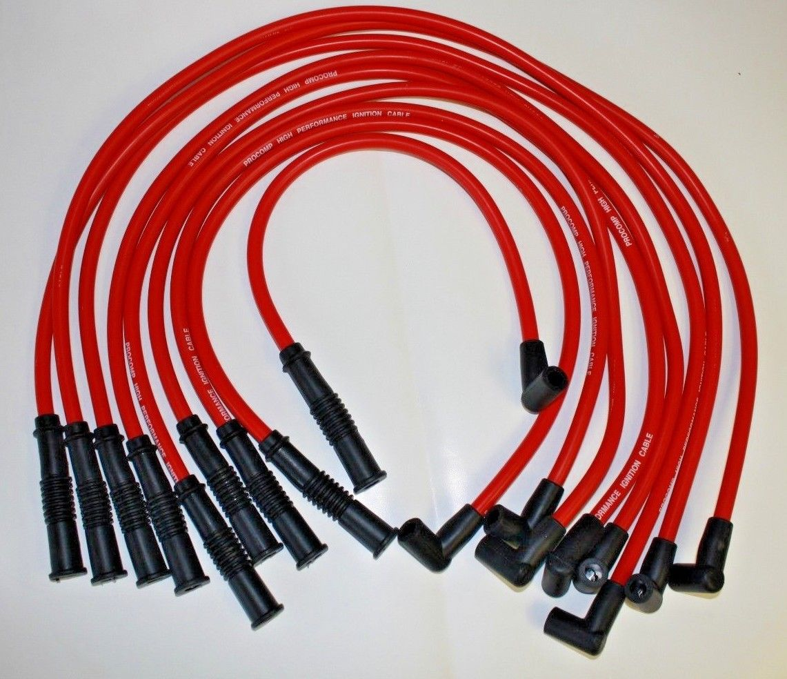 medium resolution of oldsmobile hei red 10 mm spark plug wires 307 330 350 403 ignition coil wiring olds 455 coil wiring