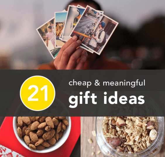 Inexpensive Thoughtful Christmas Gifts