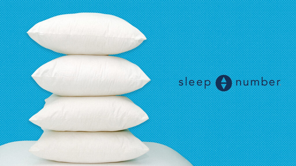 sleep number pillow brand and products
