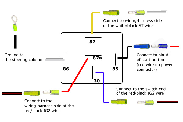 Five Pin Relay Wiring Diagram Bosch 4 Pin Relay Wiring Diagram