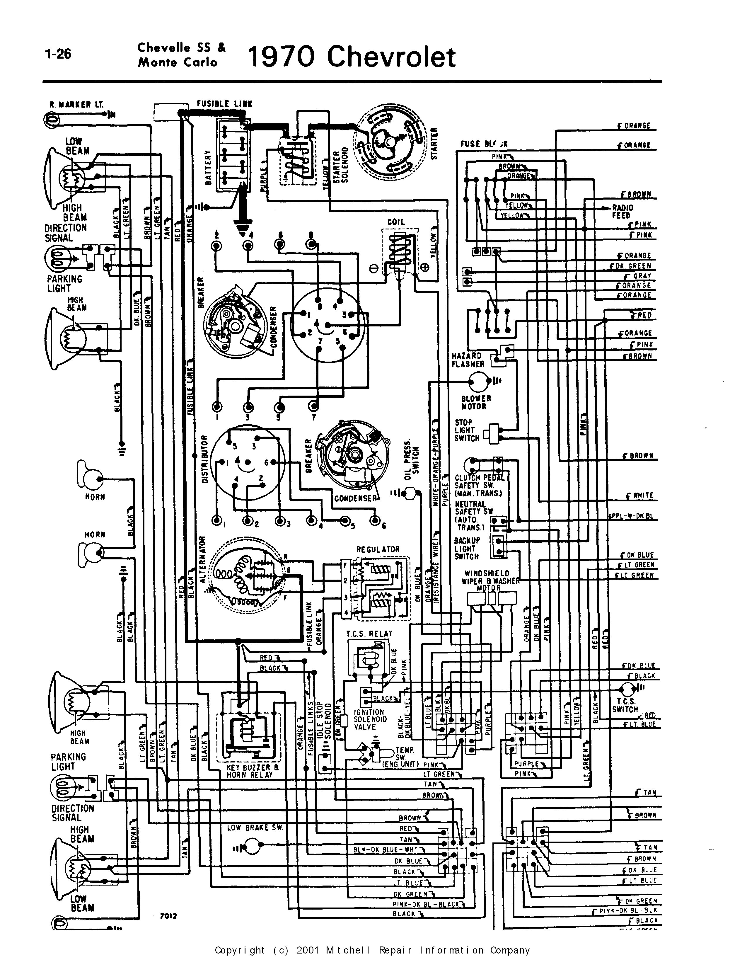 1972 chevelle wiring harness wiring diagram 1970 Chevelle Wiring Harness
