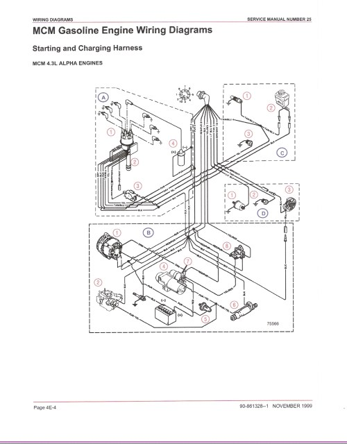 small resolution of mercruiser 4 3 wiring diagram
