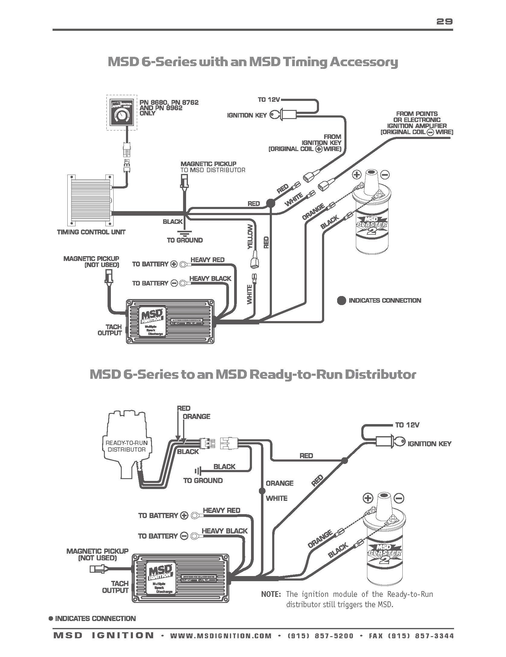hight resolution of hei msd 6a wiring diagram wiring diagram databasemsd ignition 6al wiring diagram