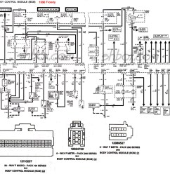 1997 ford thunderbird wiring diagram [ 1681 x 1650 Pixel ]