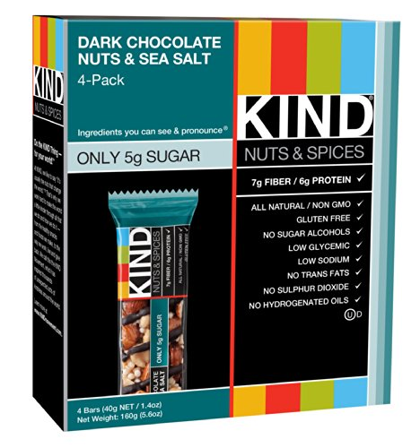 KIND Nuts amp Spices Bars Dark Chocolate Nuts amp Sea Salt 1