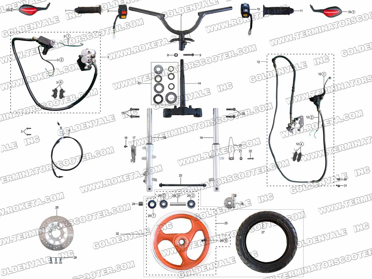 49cc pocket bike wiring diagram diagram auto wiring diagram [ 1200 x 900 Pixel ]