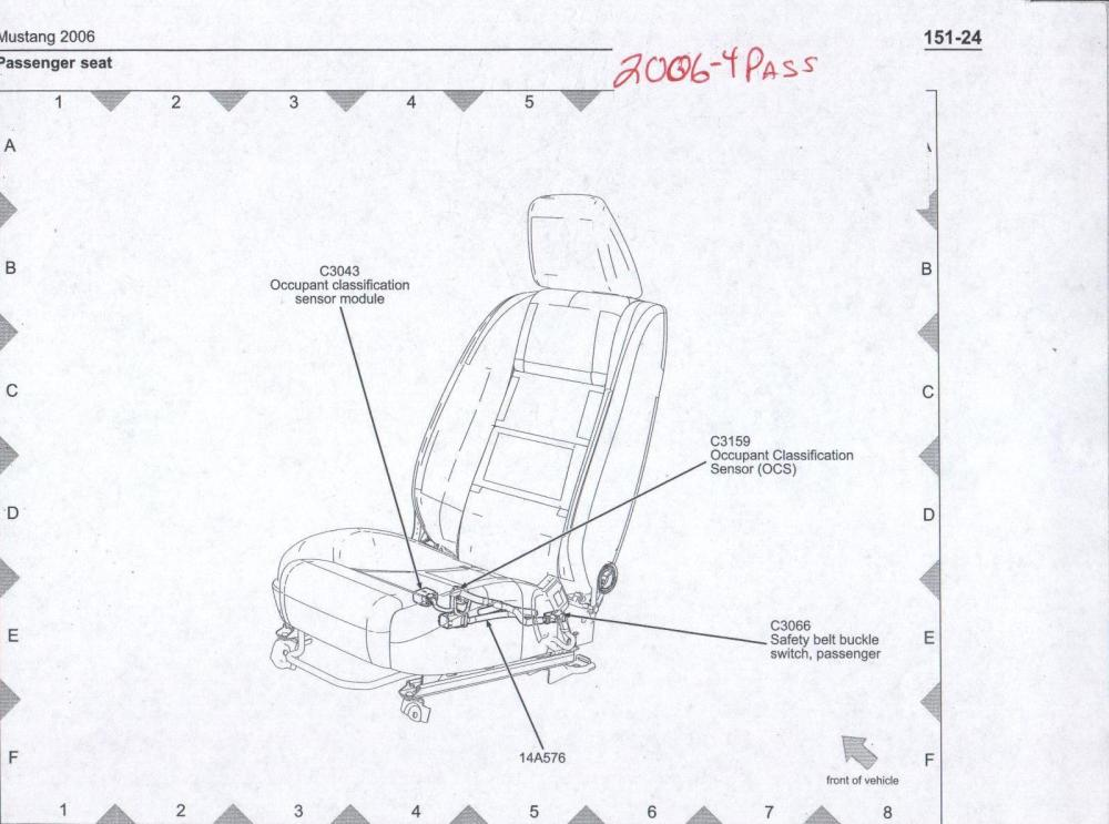 medium resolution of related with 2006 ford mustang power seat wiring diagram