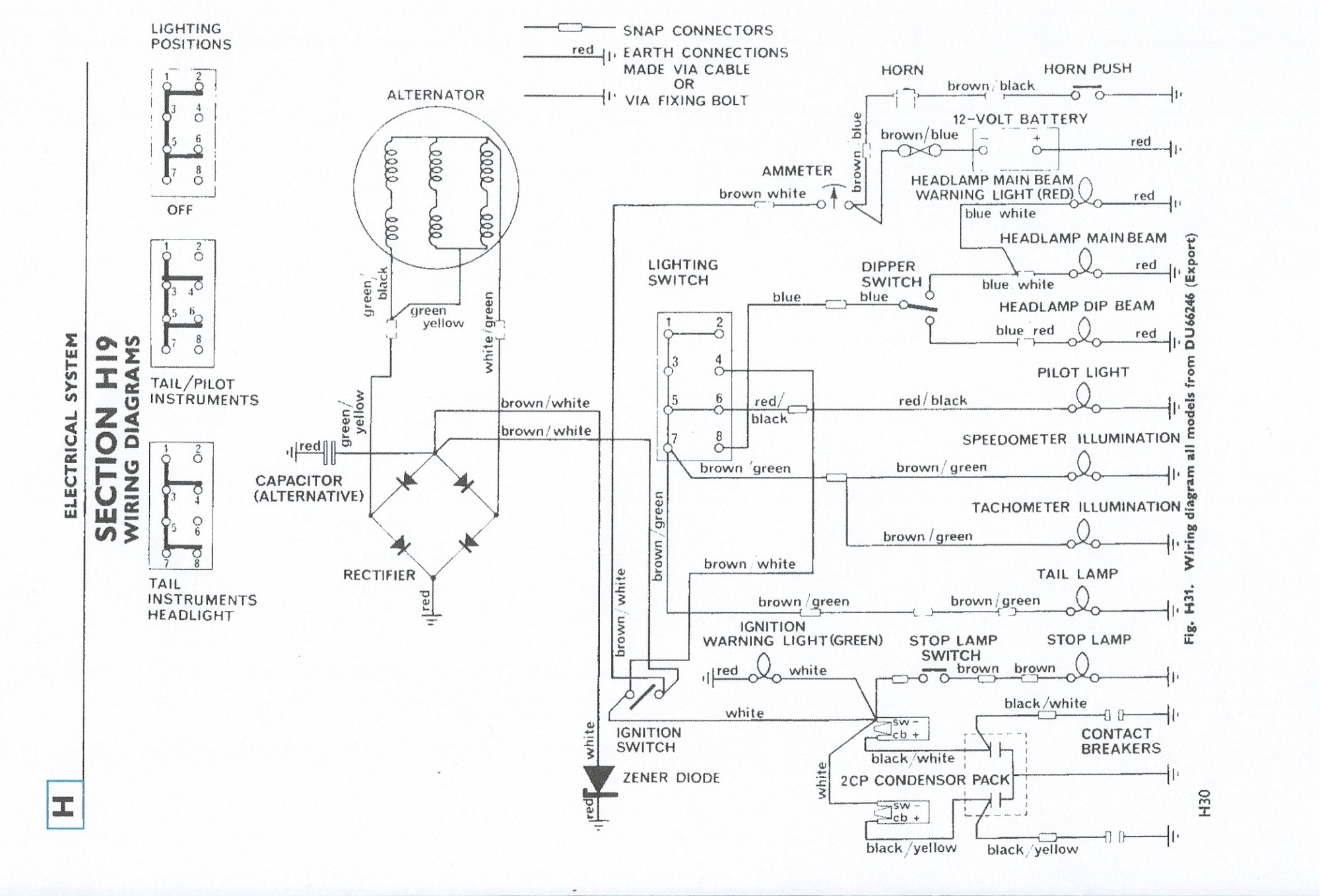 hight resolution of related with 1974 triumph tr6 wiring diagram