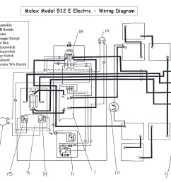 wiring diagram golf car wiring diagram blog club car battery wiring diagram 1974 [ 1430 x 1200 Pixel ]