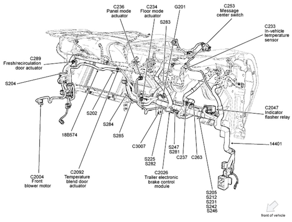 medium resolution of ford f150 engine wiring harness diagram sample