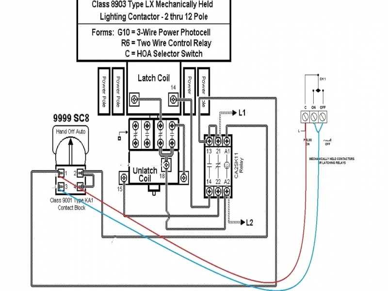 square d contact block schematic