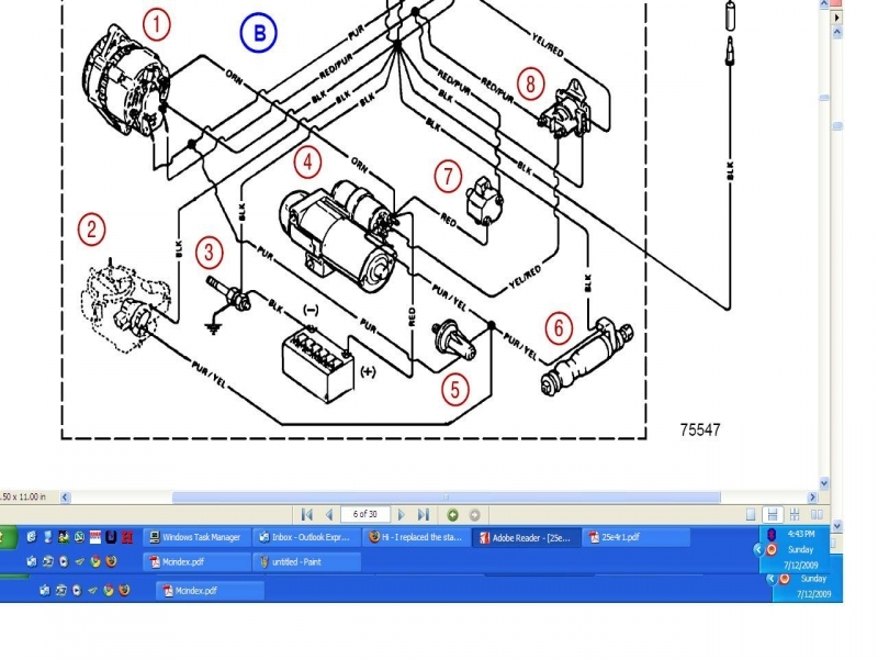 Volvo Penta Coil Wiring Diagram Mercruiser 4 3l Wiring Diagram Wiring Forums