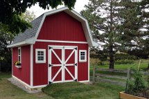 Gambrel Roof Barn Style Shed Plans