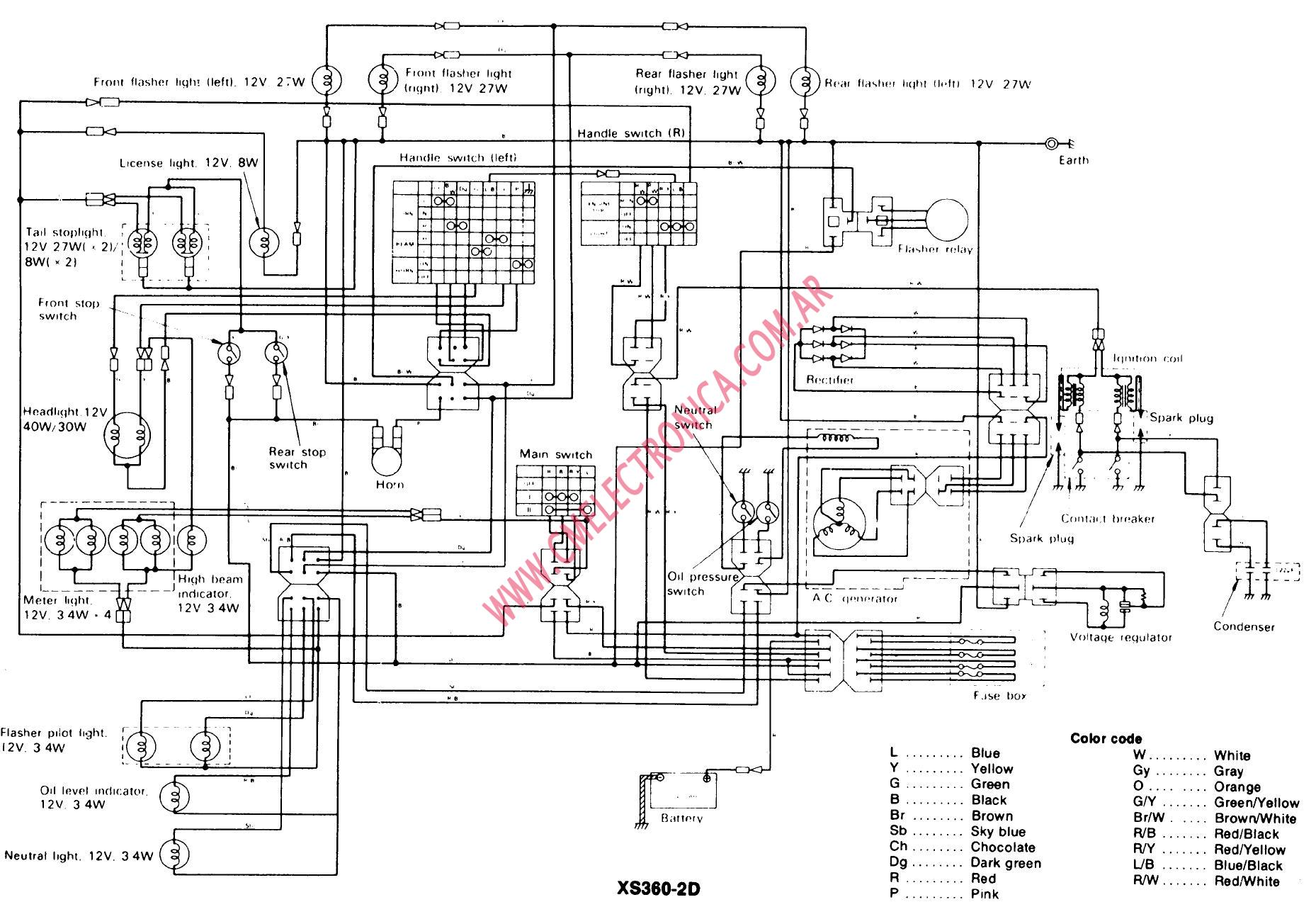 hight resolution of yamaha 350 wiring diagram