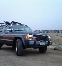 my curbside classic 1989 jeep xj wagoneer limited a cherokee with a few extras [ 1200 x 900 Pixel ]