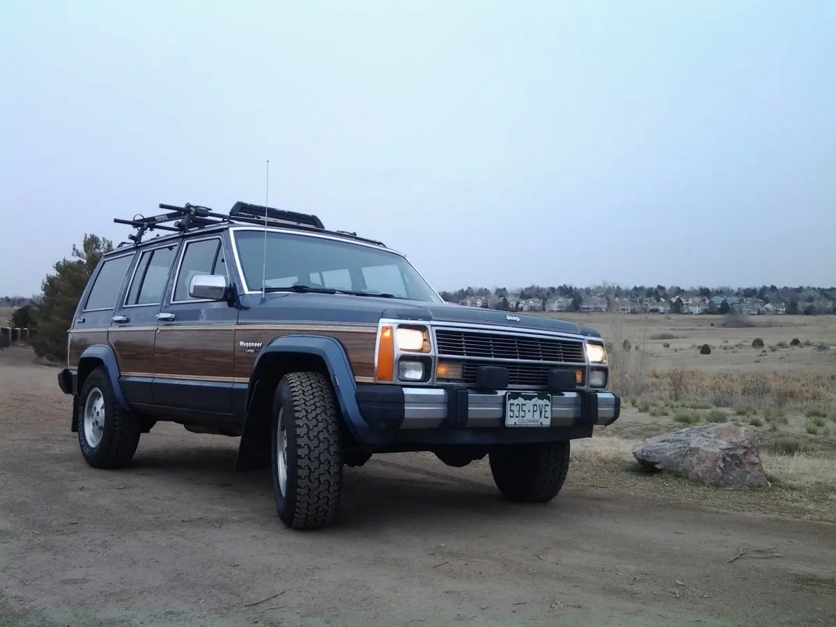 hight resolution of my curbside classic 1989 jeep xj wagoneer limited a cherokee with a few extras