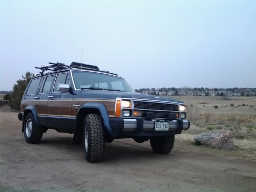 small resolution of my curbside classic 1989 jeep xj wagoneer limited a cherokee with a few extras