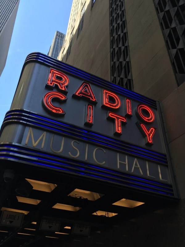 Modernist Textiles Of Radio City Music Hall