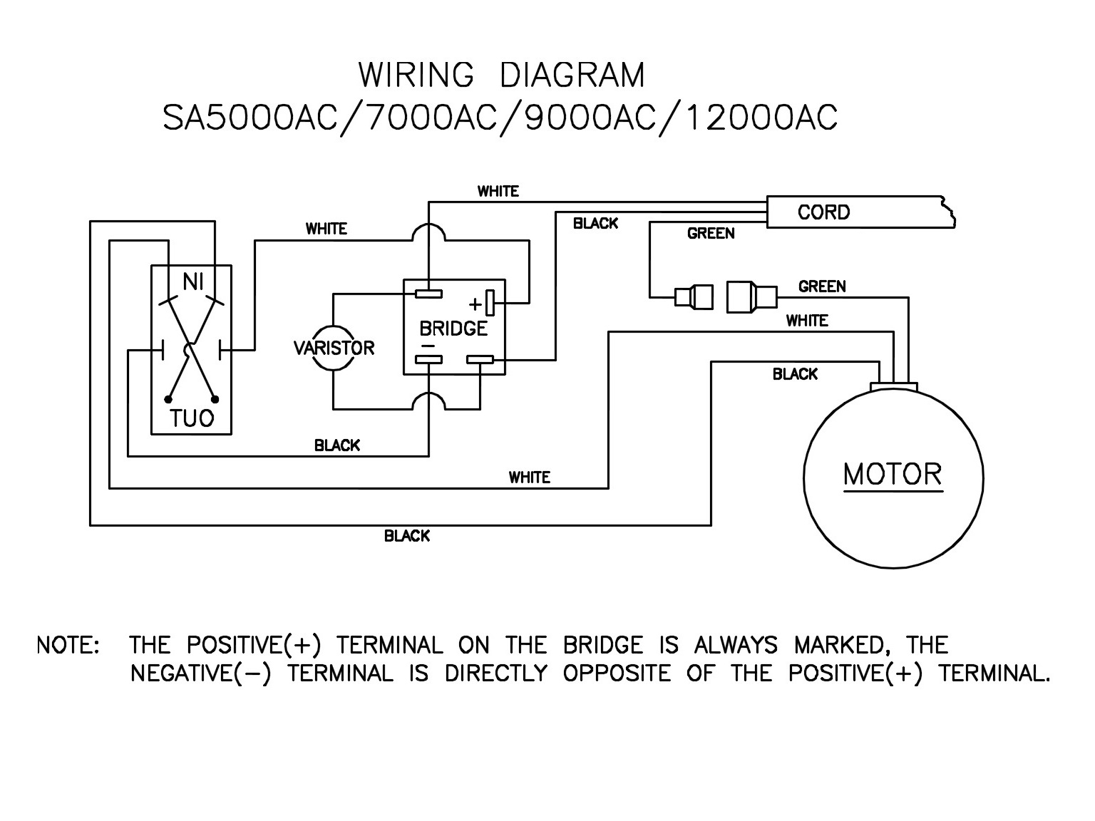 hight resolution of hight resolution of when installing new bridge make absolutely certain to connect it according to wiring