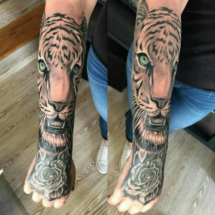 50 Great Tiger Tattoo Ideas for the Ferocious People