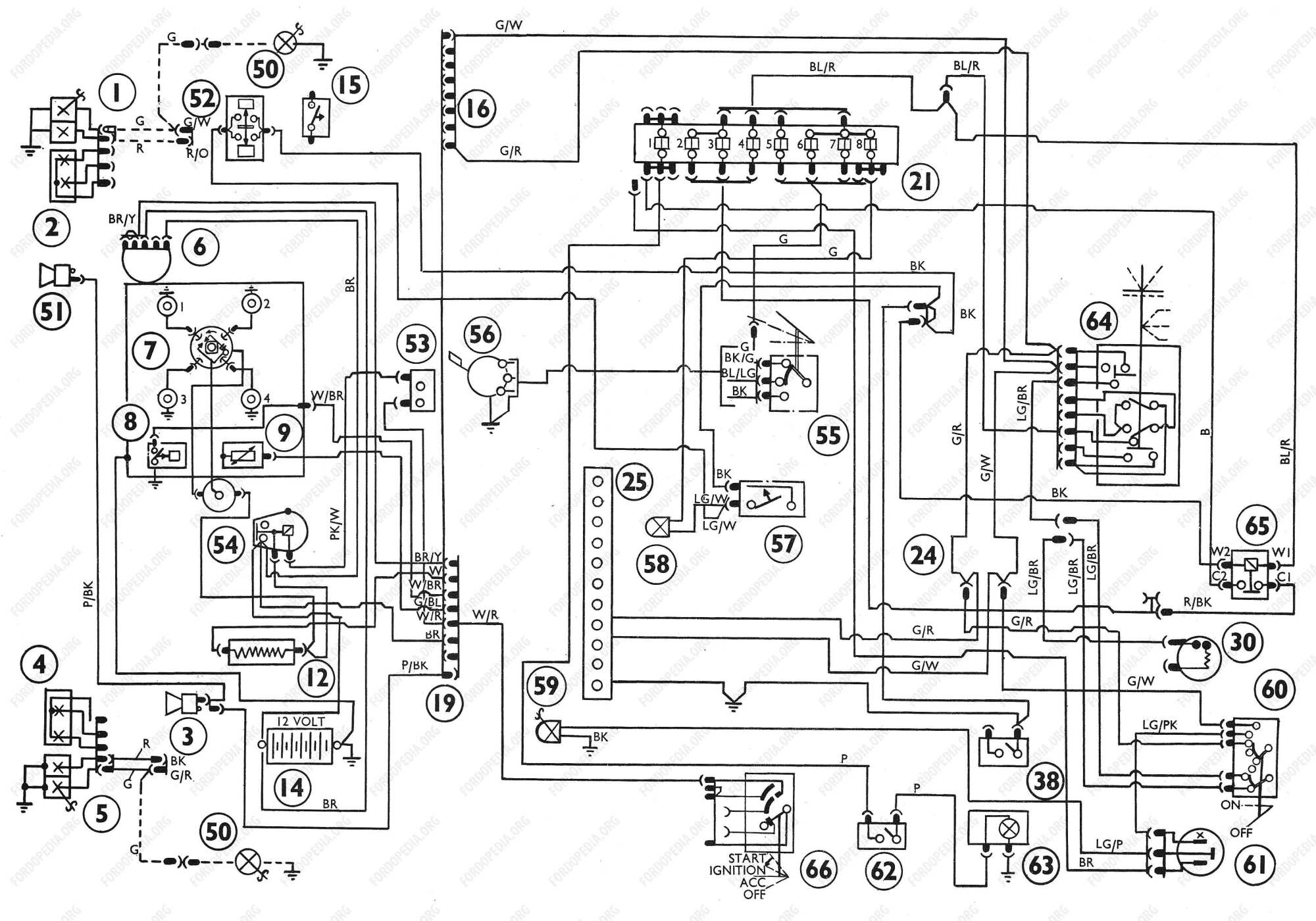 hight resolution of diagrams ford transit mki f o b 09 1970 onwards wiring