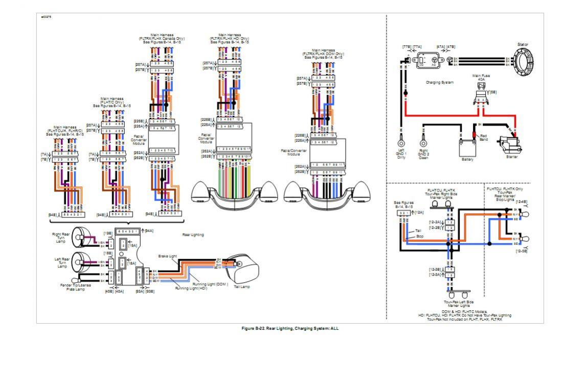 medium resolution of street glide rear light wiring diagram street get free