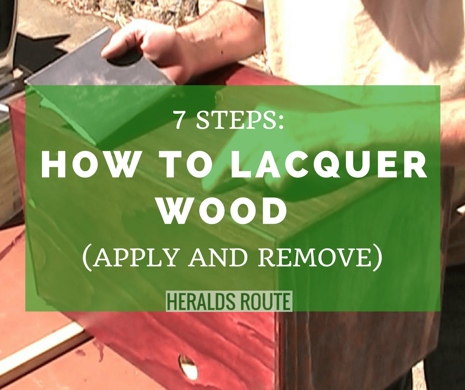 What Does Lacquer Do To Wood