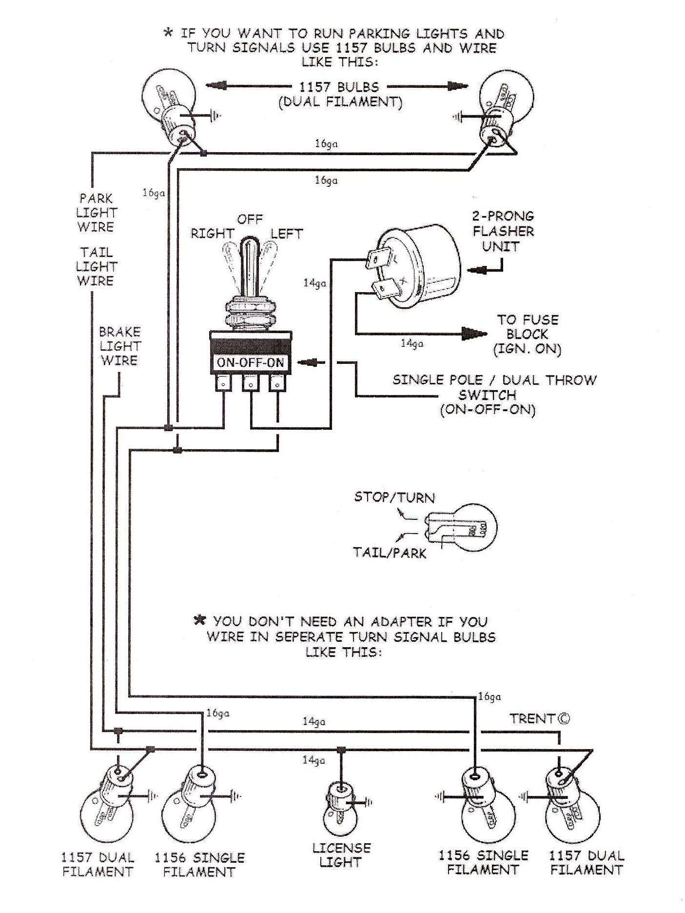 1964 chevy truck turn signal wiring diagram [ 1405 x 1872 Pixel ]