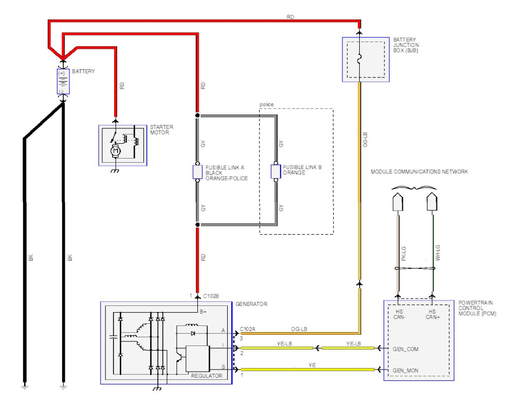 medium resolution of charging system wiring diagrams for 1966 ford pick up