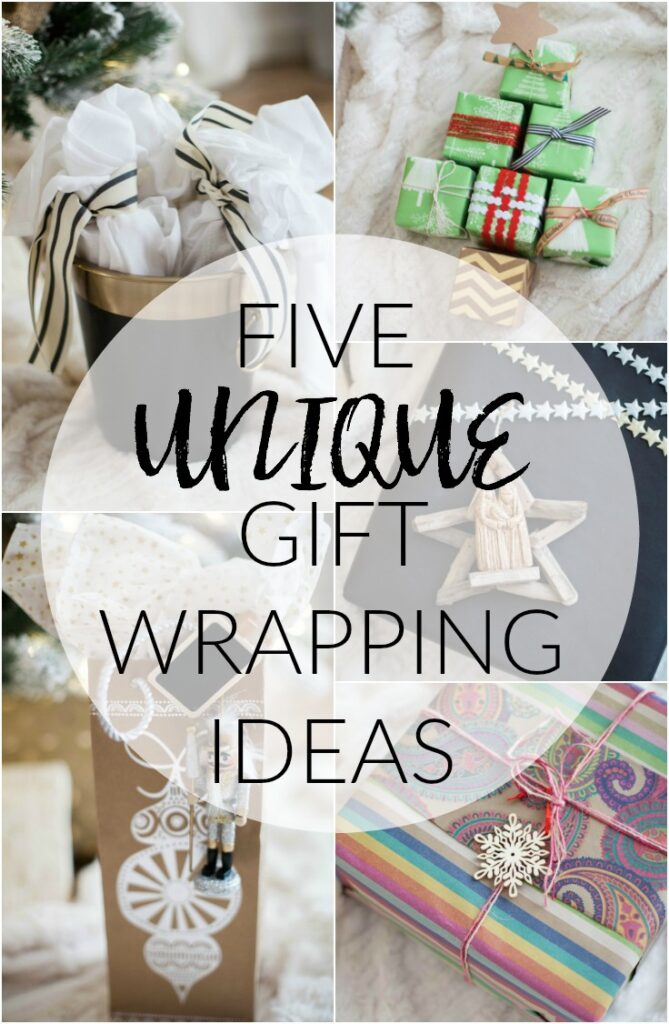 home unique gift wrapping
