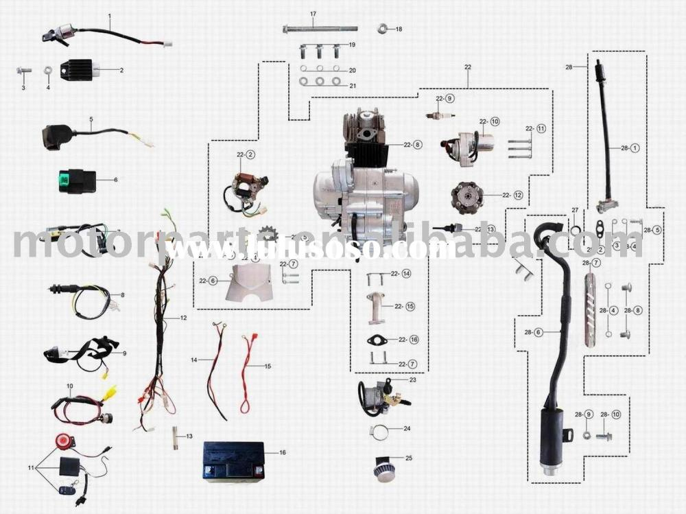 medium resolution of related with chinese bmx atv wiring diagram